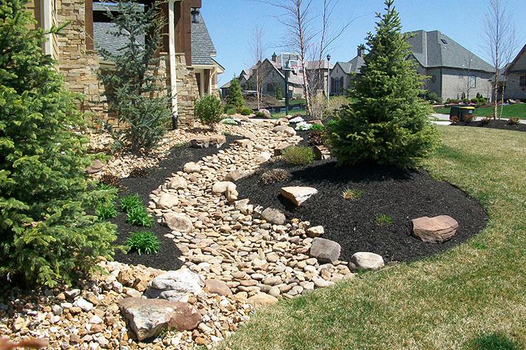 drainage, erosion control, landscape