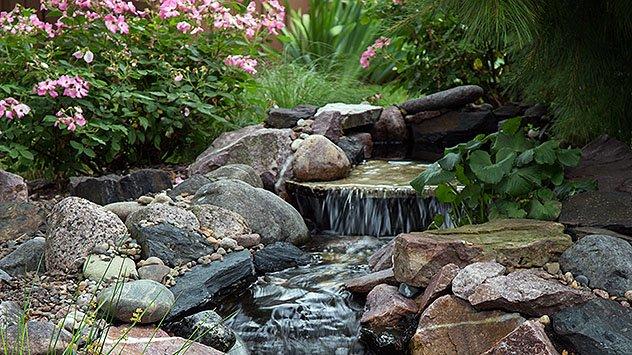 water feature, landscape