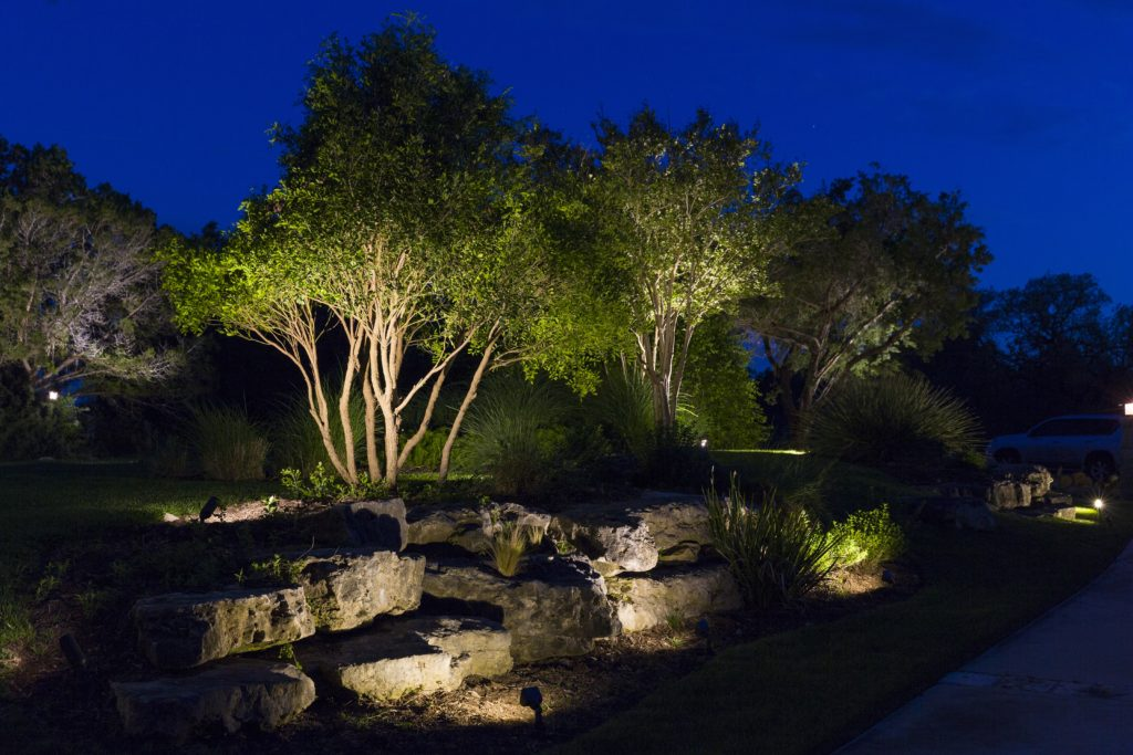 Landscape Lighting, low voltage, LED, Up-light
